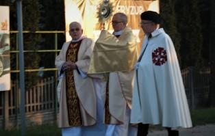 Rezurekcja w parafii św. Barbary w Wieluniu
