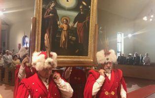 Peregrynacja w parafii Matki Bożej...