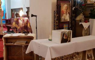 Św. Rita w parafii Narodzenia NMP w Turowie