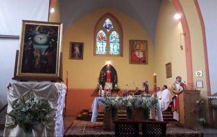 Peregrynacja w parafii św. Wojciecha w Maszewie...