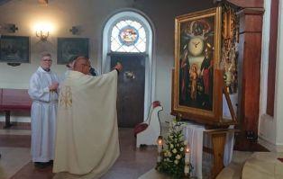 Peregrynacja w parafii św. Wojciecha w...