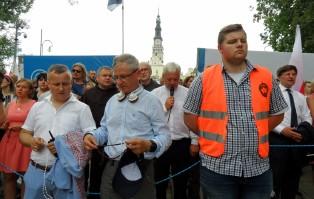 Marsz równości nie zakłócił pielgrzymki