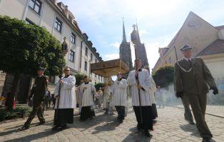 Centralne obchody Bożego Ciała we Wrocławiu