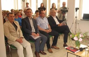 Poeta Józef Baran gościł w Powiatowej...