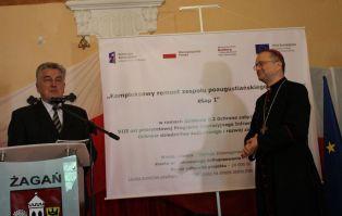 Inauguracja projektu remontu poaugustiańskiego...