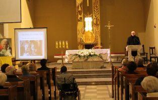 Prelekcja nt. Cudu Eucharystycznego w Legnicy.