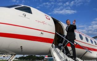 Prezydent udaje się z pierwszą w nowej kadencji wizytą...