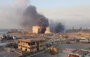 Liban: w Bejrucie miały miejsce dwie eksplozje, są...