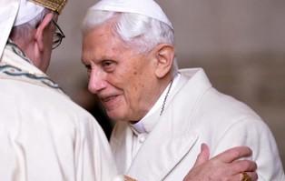 """Benedykt XVI: """"nie ma dwóch papieży"""