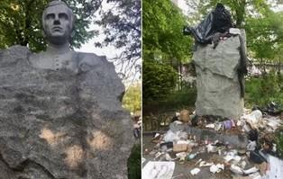 USA: Zdewastowano pomnik księdza Popiełuszki na...