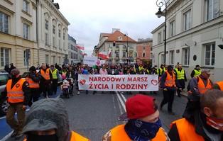 Warszawa: Narodowy Marsz Życia i Rodziny