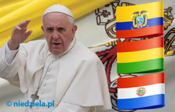 Program podróży papieża do Ameryki Łacińskiej