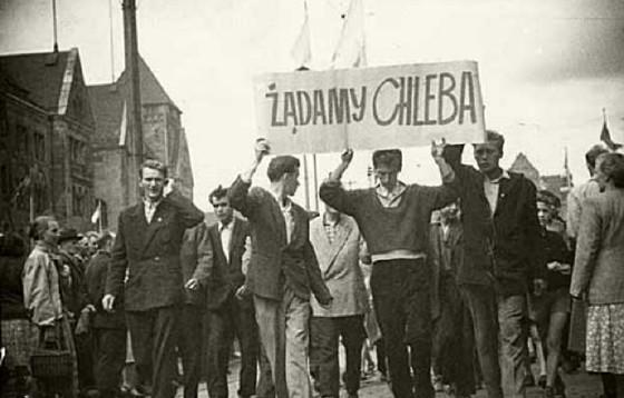 60. rocznica robotniczego zrywu w Poznaniu