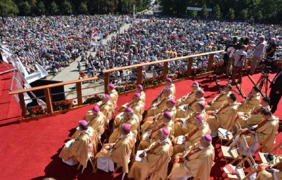 Z udziałem 60 tys. pielgrzymów odpust ku czci Matki Bożej