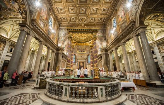 Papież przed wyruszeniem do Egiptu nawiedził bazylikę Santa Maria Maggiore