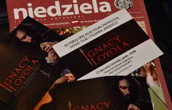 """""""Niedziela"""" zaprosiła widzów na film o św. Ignacym Loyoli"""