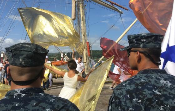 Uczestnicy Rejsu Niepodległości już w Panamie