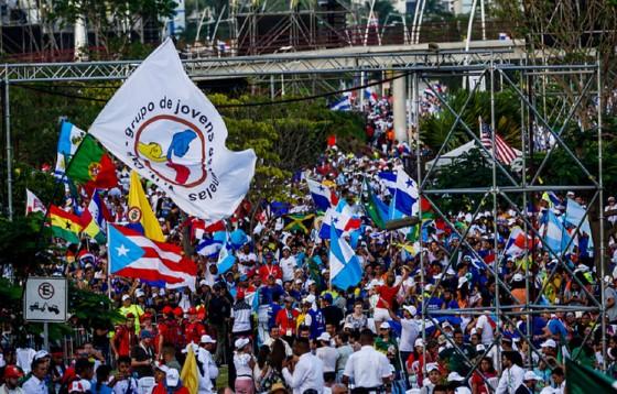 W otwarciu ŚDM wzięło udział 150 tys. ludzi