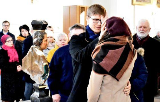 Odpust św. Walentego w Lubiążu