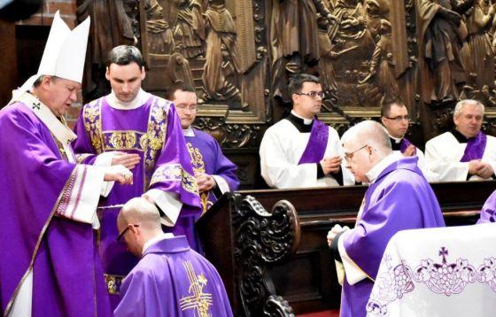 Środa Popielcowa w katedrze
