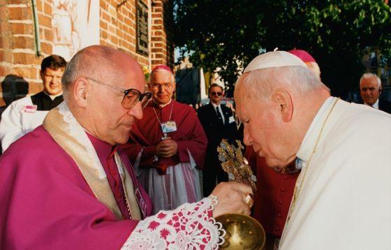 Jan Paweł II w katedrze gorzowskiej