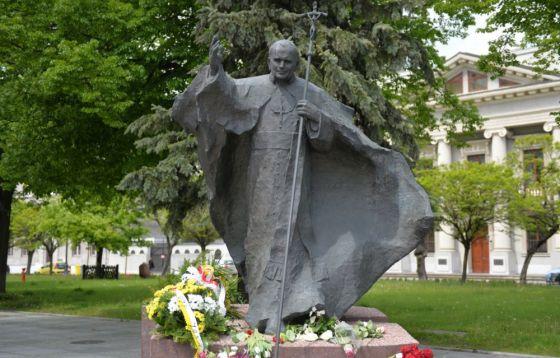 Święty Jan Paweł II w sercach Łodzian