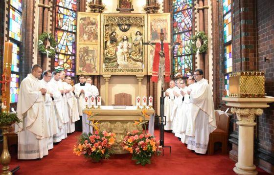 Msza Święta prymicyjna we wrocławskim seminarium