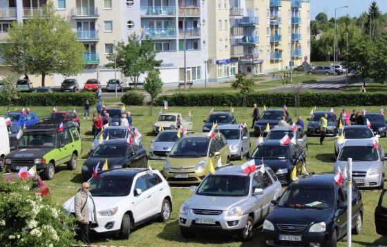 Uroczystości z okazji 100. rocznicy urodzin Jana Pawła II w Gorzowie.