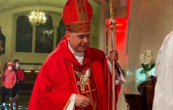 Sakrament bierzmowania w wigilię Zesłania Ducha Świętego