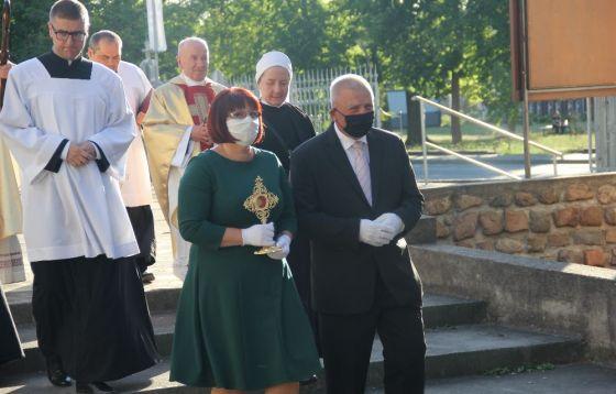 Poświęcenie kaplicy wieczystej adoracji w Kostrzynie nad Odrą