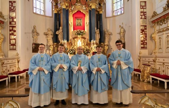 Msza św. prymicyjna tegorocznych neoprezbiterów.