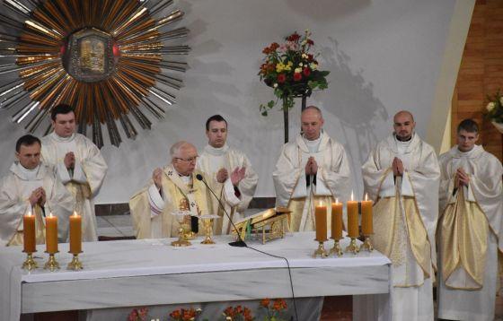 Odpust w Wyższym Seminarium Duchownym Archidiecezji Częstochowskiej A.D. 2020