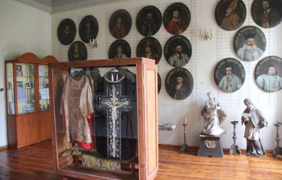 Muzeum parafialne w poaugustiańskim kompleksie kościelno-klasztornym w Żaganiu