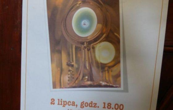 Legnica. IV rocznica ukazania Relikwii Eucharystycznych