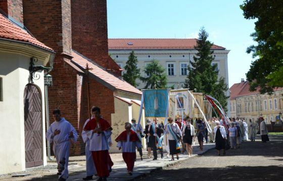 Pielgrzymka Żywego Różańca do Chełmna