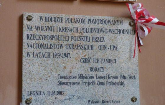 Legnica obchód 77 rocznicy Rzezi Wołyńskiej