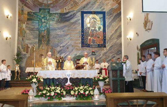 Dziękczynienie za 60 lat święceń kapłańskich w Ksawerowie