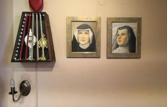 Poświęcenie obrazów w parafii św. Jacka