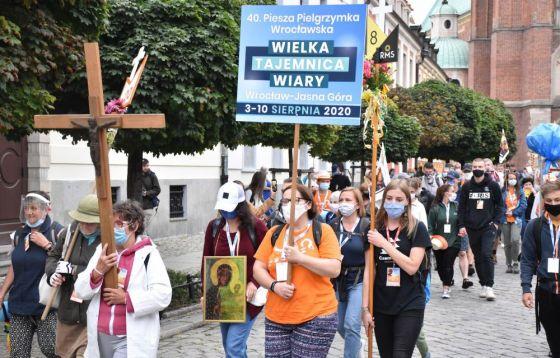 40. Piesza Pielgrzymka Wrocławska na Jasną Górę wystartowała!