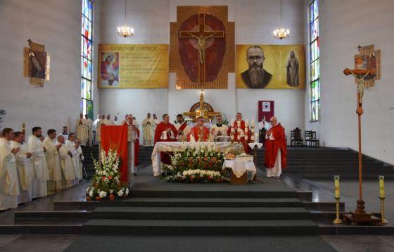 40 lat parafii pw. św. Maksymiliana Kolbego w Toruniu