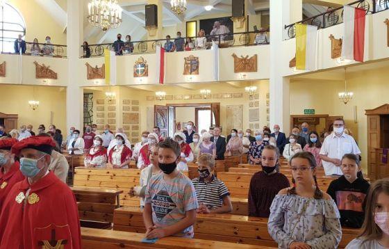 5. rocznica koronacji wizerunku Kalwaryjskiej Matki Zawierzenia w Praszce