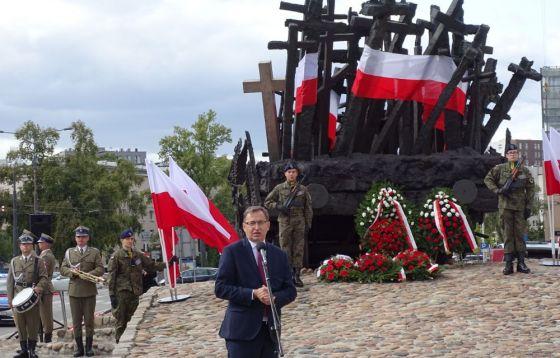 Odsłonięcie tablicy poświęconej Wojciechowi Ziembińskiemu