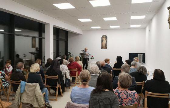 Łódź: Faustinum - droga ufności i miłosierdzia