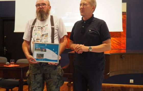 Spotkanie ze Zbigniewem Stępniem
