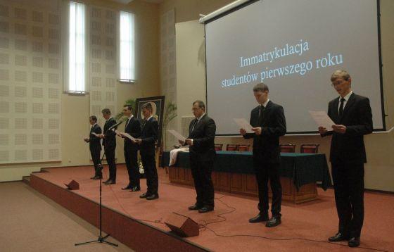 Inauguracja nowego roku akademickiego w WSD w Częstochowie.