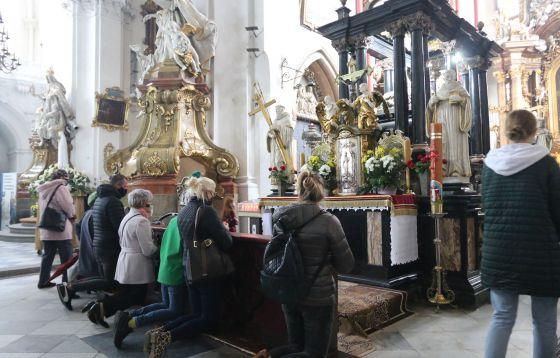 Suma odpustowa w sanktuarium w Trzebnicy