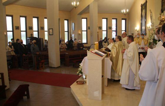 Konsekracja kościoła w Podmoklach