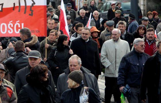 Łódź: Archiwalne zdjęcia z pogrzebu ś.p. Marka Rosiaka