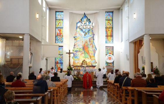 Łódź - Stoki: Uroczystości odpustowe w parafii pw. św. Judu Tadeusza