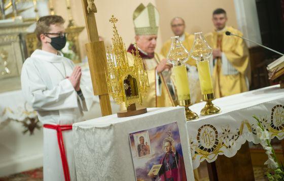 Łódź: Relikwie św. Arcybiskupa Józefa Bilczewskiego
